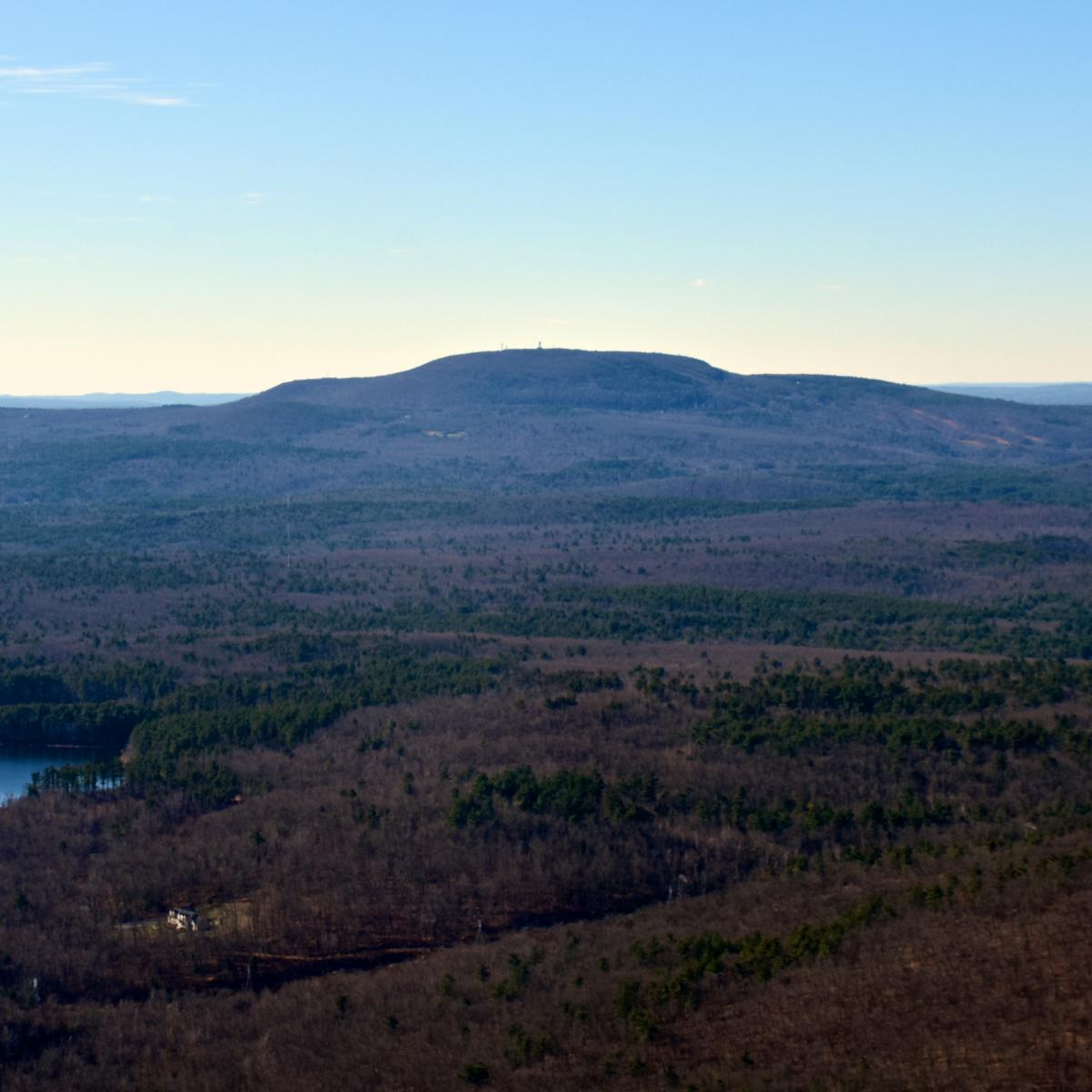 Mount Monadnock in Massachusetts.