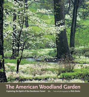 The American Woodland Garden book cover.