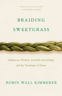 Braiding Sweetgrass book cover.