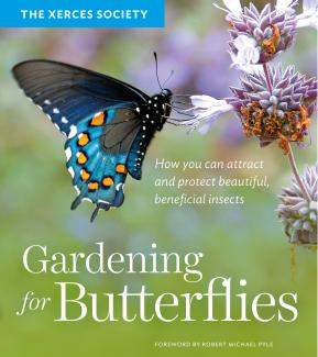 Gardening for Butterflies book cover