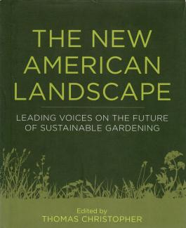 The New American Landscape book cover