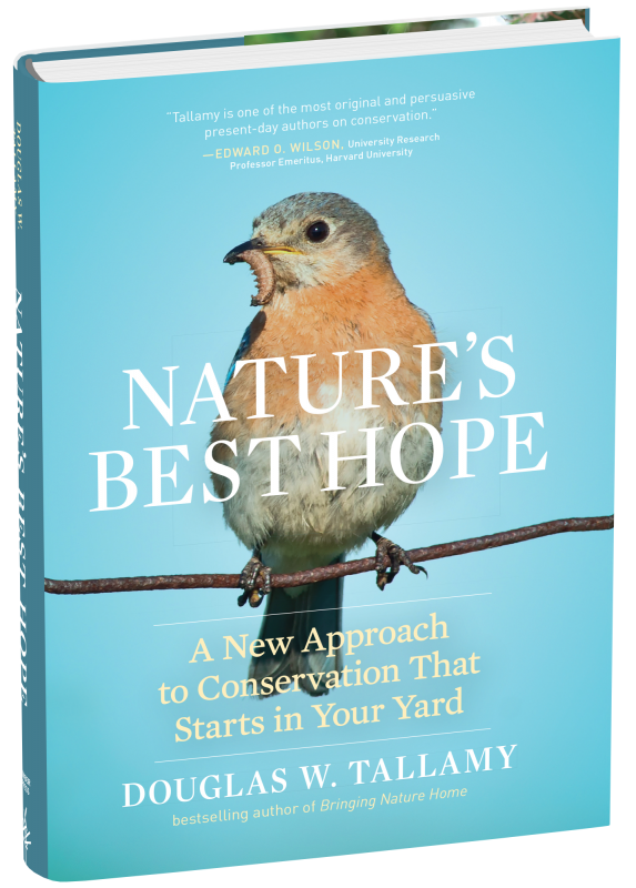 """Nature's Best Hope"" book cover."
